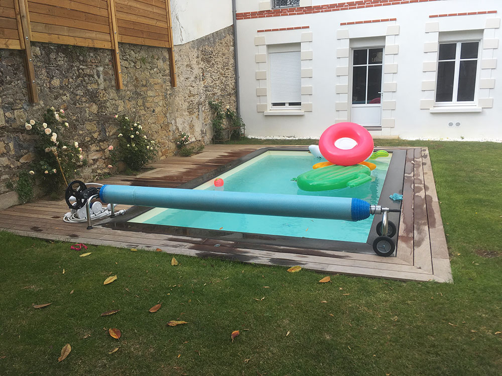 Terrasse piscine jour