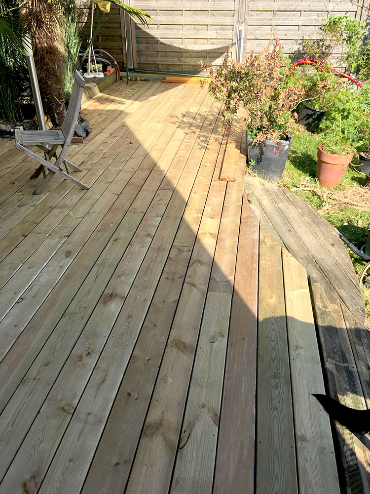 Réhabilitation terrasse 2